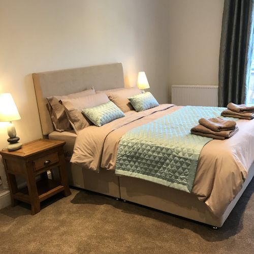 The Hoppings Filey Double Bedroom